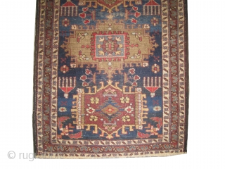 """Meshgin Persian circa 1910 antique. Collector's item, Size: 125 x 85 (cm) 4' 1"""" x 2' 9"""" Carpet ID: K-4186 It is a pair, the second is K-4187, 85 x 125cm.  Vegetable dyes,  ..."""