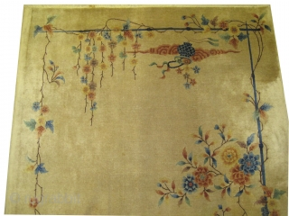 "Art Deco Chinese circa 1925. Size: 296 x 213 (cm) 9' 8"" x 7' 