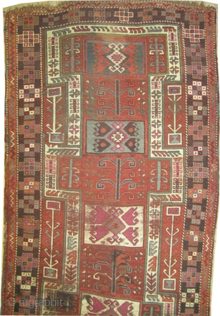 "Konya Anatolian. Size: 312 x 122 (cm) 10' 3"" x 4' 