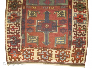"Karapinar Anatolian antique. Size: 234 x 124 (cm) 7' 8"" x 4' 1""  carept ID: AZ-2711 