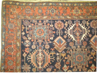 "Karadja Persian circa 1915 antique. Collector's item, Size: 362 x 261 (cm) 11' 10"" x 8' 7""  carpet ID: P-5893 