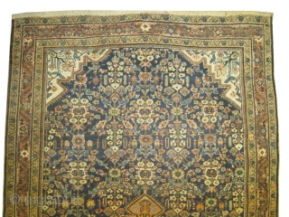 "Ziegler-Mahal Persian knotted circa in 1910 antique, collector's item, Size: 300 x 179 (cm) 9' 10"" x 5' 10""  carpet ID: P-5718