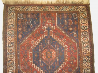 Shiraz Persian, circa 1915 antique, size: 88 x 146 cm,  carpet ID: BDI-9