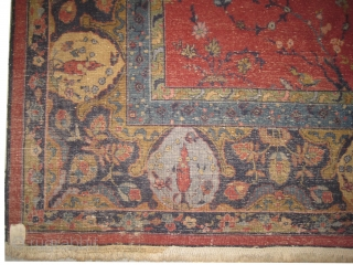 Amritsar Indian over size carpet knotted circa in 1930. Carpet ID: AMR-1