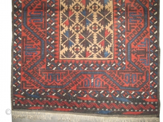 "Belutch Persian circa 1910 antique, collector's item, Size: 166 x 100 (cm) 5' 5"" x 3' 3""  carpet ID: K-3576