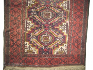 Belutch Persian circa 1910 antique. Size: 183 x 100 (cm) 6'  x 3' 3"