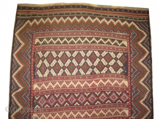 Afshar kelim circa 1905, antique, collectors item, Size: 160 x 232cm, Carpet ID: ROB-3