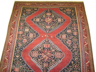 "Karabagh Caucasian dated 1320 = 1902 antique, collectors item.  383 x 195 (cm) 12' 7"" x 6' 5""  carpet ID: W-113 