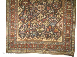 Qashqai Persian, circa 1910 antique, collectors item, Size: 134 x 204cm,  Carpet ID: 0001