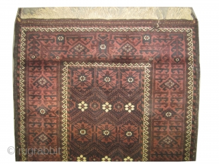 "Belutch Persian circa 1925 Semi-antique, Size: 194 x 102 (cm) 6' 4"" x 3' 4""  carpet ID: K-3475