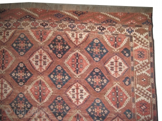 "Tschaudor Turkmen antique. Collector's item. Size: 330 x 197 (cm) 10' 10"" x 6' 6""  carpet ID: P-3516