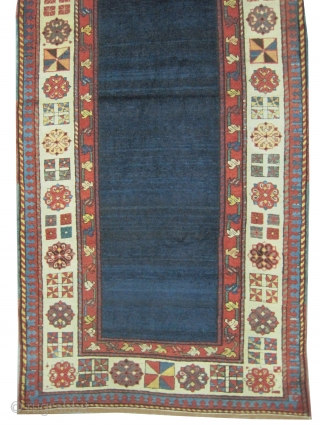 "Talish Caucasian knotted circa in 1885 antique, collector's item,  246 x 100 (cm) 8' 1"" x 3' 3""  carpet ID: K-4411
