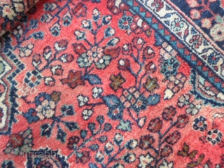 213 x 133 cm Borchalou in very good condition Fine knot and beautiful dyes for this carpet.ne. Full pile for this one. More info and photos on request. All the best from lake of COMO ! MAURICE  ...