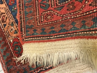 Oriental runner in very good condition, washed and ready for use. Size cm. 284 x 96 cm. Pile, warp and weft are wool. Knotted in the village of SARAAB-Azeri.  More pictures and info on request. All the  ...