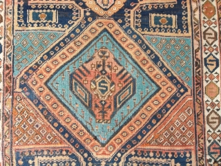 MESHKIN or Baksheysh  antique piece knotted in the district Azeri