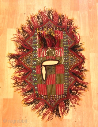Vintage Turkmen tekke kids dress