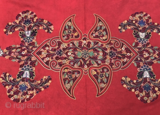 Antique 19.th persian embroidered textiles   Size: 180 cm x 110 cm  Fast world shipping   Thank you for visiting my shop