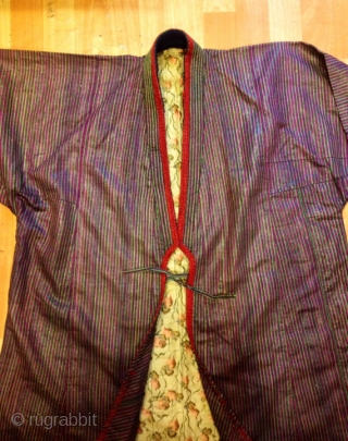 Turkmen chodur asian ethnic vintage kaftan 