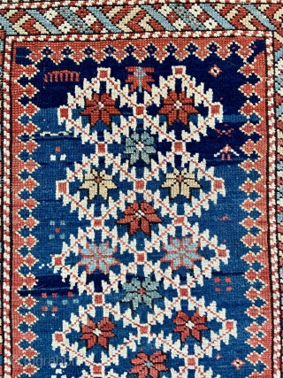 Caucasian Shirvan Rug  - 3'3 x 5'9 / 99 x 175 cm