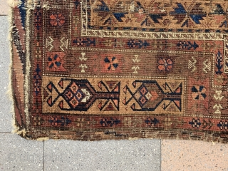 Cute Baluch prayer rug , size : 130x80cm , price : 500 euro + Shipping from Paris ...