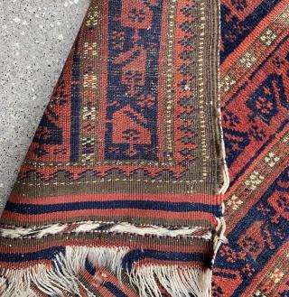 So cool and old Baluch poshti , size : 80x53cm ,  Price : 400 euro .