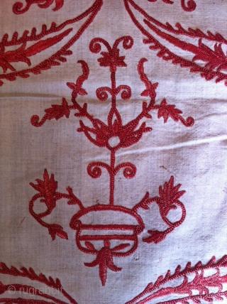 A very nice Greek embroidery,  Circa : 18th