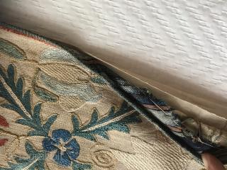 Beautiful Nim Suzani . Circa 19th , size : 128x100cm , great condition and clean .
