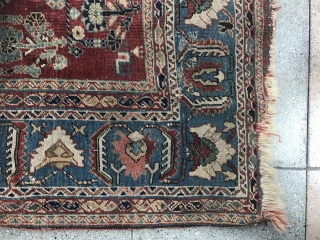 Really beautiful and older one as Qashqayi rug but low pile ! Ok but cheap price ! Only 500€+ shipping from Paris ! I have too much carpets :) size : 200x130cm some  ...