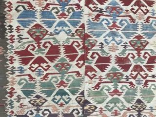 Antique, Konya, Aksaray Kilim 304x144 cm