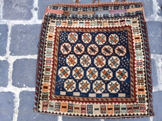 Qashqai pair circa 1900 excellent condition  size 60x57 cm