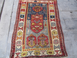 Caucasian or Anatolian yastic 19th.