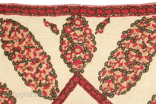 Silk Ura Tubeh Suzani prayer textile from Uzbekistan, Central Asia. Circa mid 19th Century or earlier, in excellent condition. Measures out to 3-1 x 4-10 ft. Please have a look around my  ...