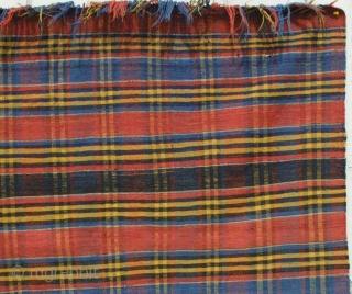 # 3770 Shahsavan Flat weave Cover, N. W. Persia, 19th Century. 4-2 x 7-9