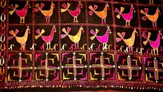 Vintage Phulkari Rare design Punjab, India