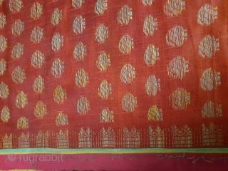 Brocade saree from Banaras,India, 156 x 27inch