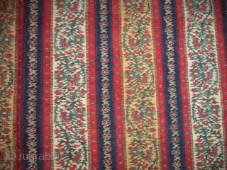 Vintage kashmir shawl fragment ( katras ). 26x13 inch.