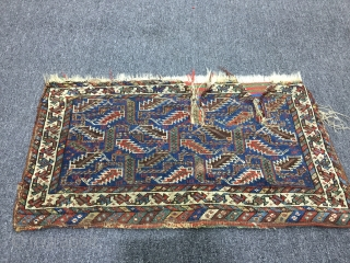very nice root paint shiraz bag, (fragment)