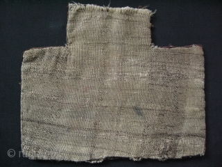 Afghanistan Baluch saltbag. Missing some parts of the top panel. Circa 1900.  Wool on wool great soft pile.