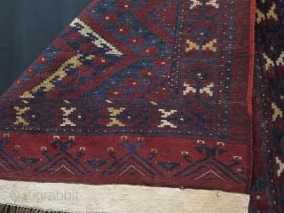 "Turkmen Ersari ikat design large size chuval. Size: 42.5"" x 63"" - 108 cm x 160 cm"