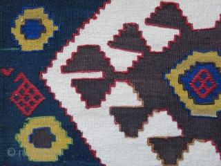 "Caucasus - mafrash- bedding bag end panel. Size : 20"" X 21"" - 51 cm X 53 cm"