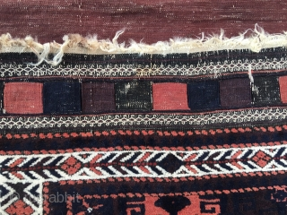 Old Baluch saddle bag with All naturel colors.