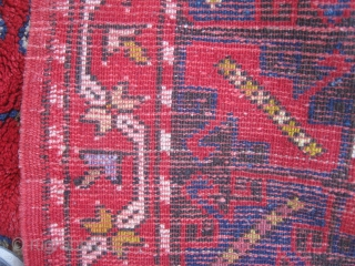 West Anatolian Daskırı Rug in good condition.The size 150x280cm.
