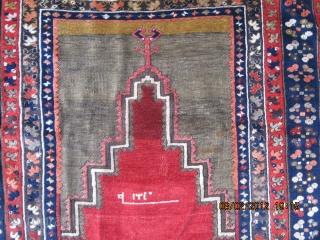 Central Anatolian Rug.Probably Niğde-Kutören village.165x101cm