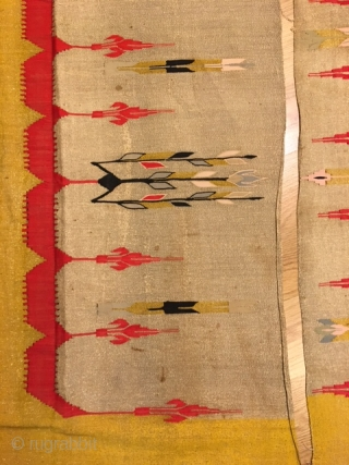 Antique Aleppo-Syrian textile 105x320cm