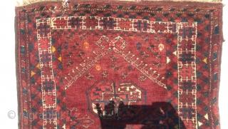 Antique prayer rug, Afghanistan circa 1920  Size 112 cm 78 cm
