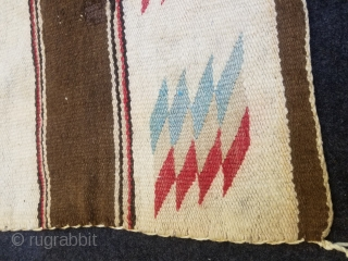 Antique navajo saddle blanket.Size 142×73 cm.Contact for more info and pics.