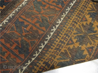 Beautiful antique Baluch runner. Very decorative. Size: ca 370x93cm / 12'2'' x 3'