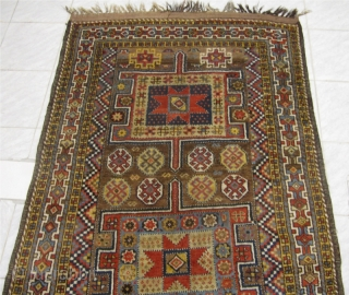 Antique Kordi rug. Origin: Northeast Persia. Very good condition. Size: ca 260x135cm / 8'6'' x 4'5'' Decorative rug with beautiful drawing. Age: circa 1910. www.najib.de