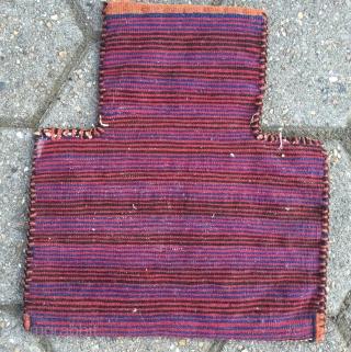 "Antique Kordi sumakh saltbag or so called ""Namakdan"" from Northeast-Persia. Age: circa 1900. Size: 40x35cm /1'3''ft x 1'1''ft  www.najib.de"