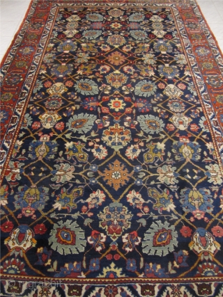 Antique Persian Tabriz from the 1920´s, good condition. Size: 375x215cm / 12'3''ft x 7'1''ft www.najib.de